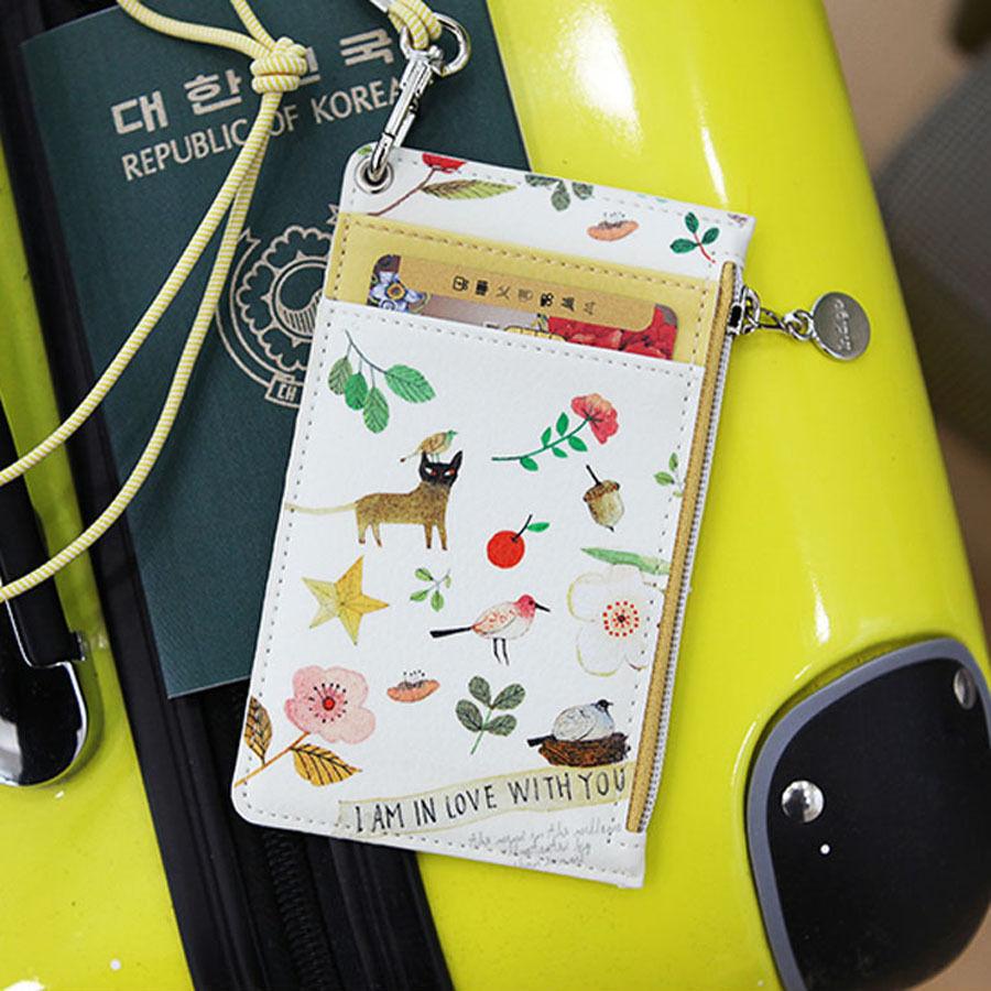 Indigo - W.P. Neck Zipper Case V.3 - ID Card Holder