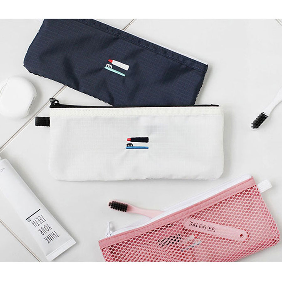 2nul Toothbrush Pouch Travel Toiletry Bag Toothpaste Bag