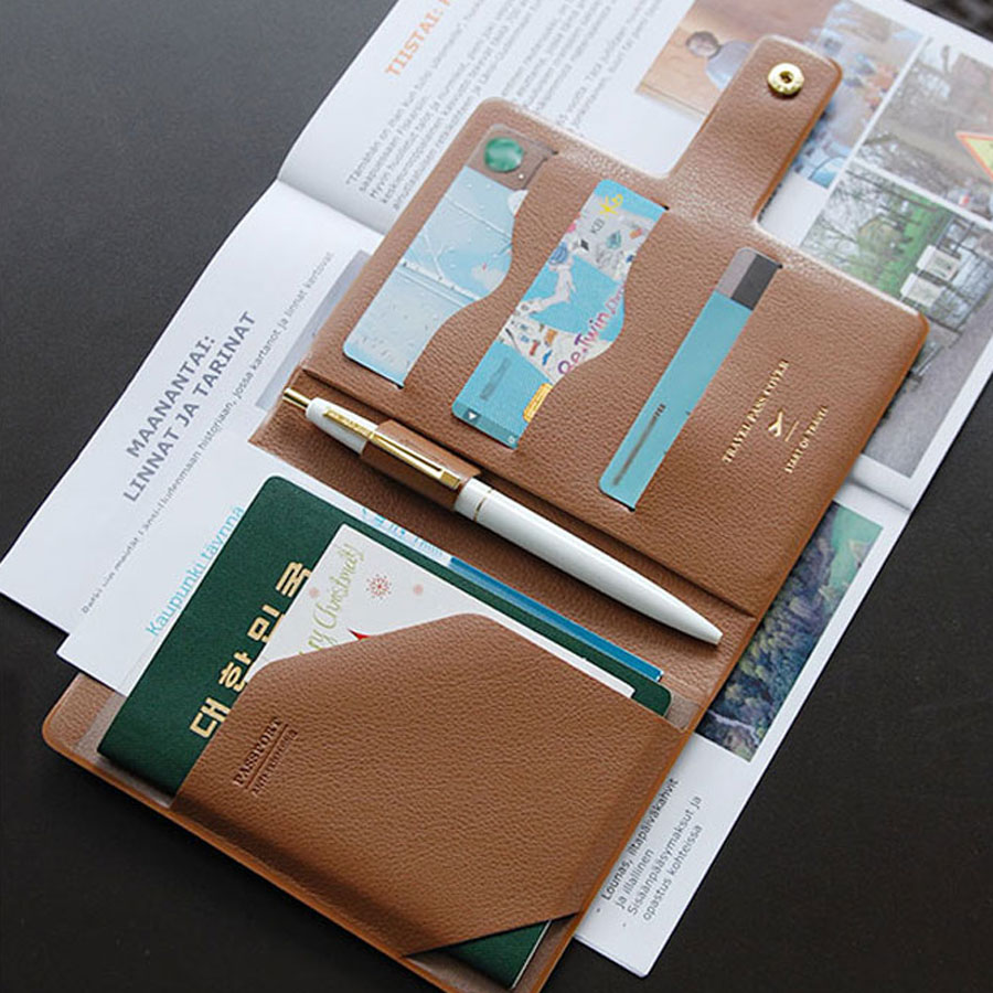 Plepic Travel Pass Cover E Passport Cover Rfid Shielding
