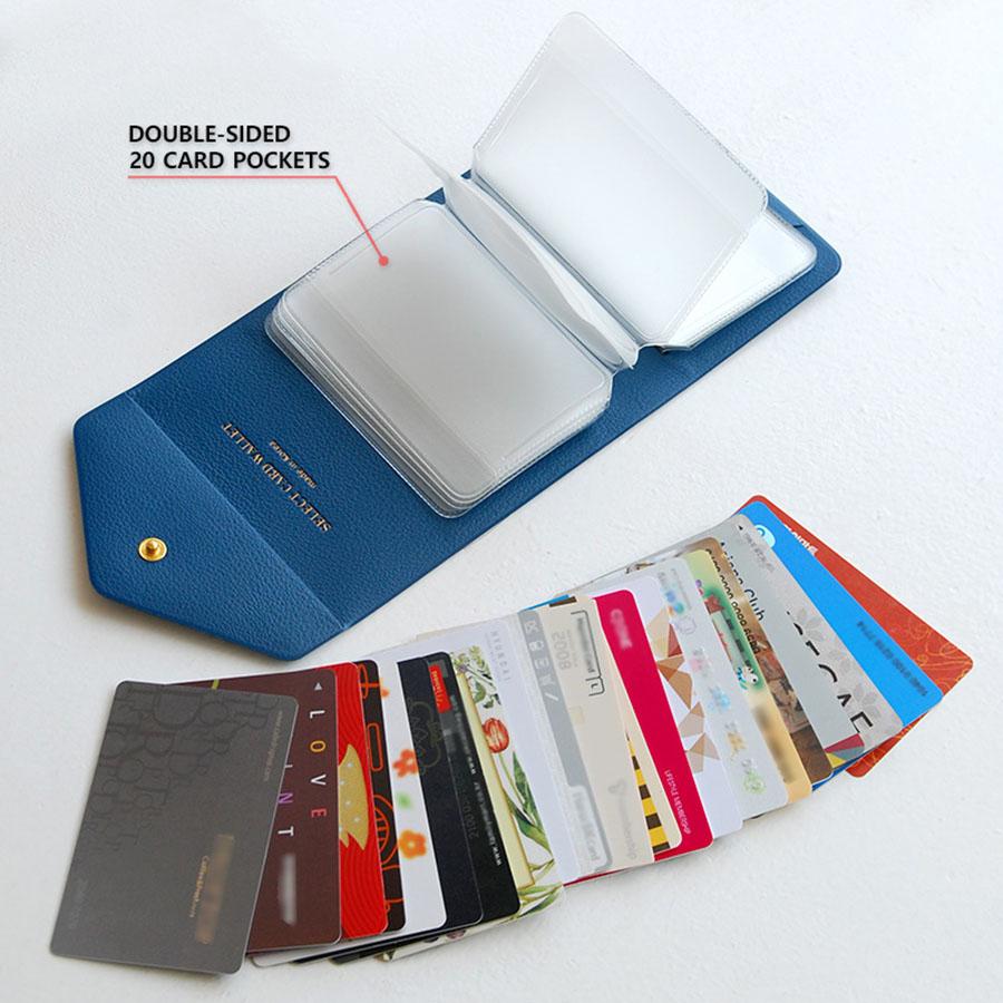 Plepic Select Card Wallet 20 1 Slots Credit Card Holder