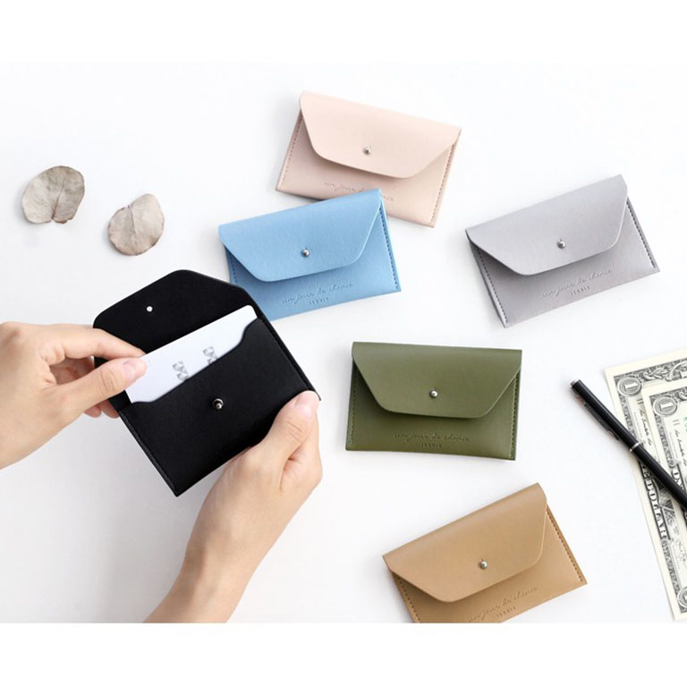 ICONIC - Slit Card Holder - Credit Card Holder - Business Card Case