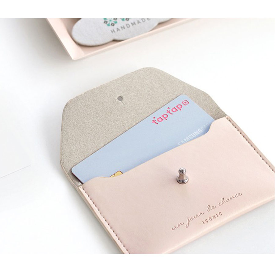 Iconic slit card holder credit card holder business card case colourmoves